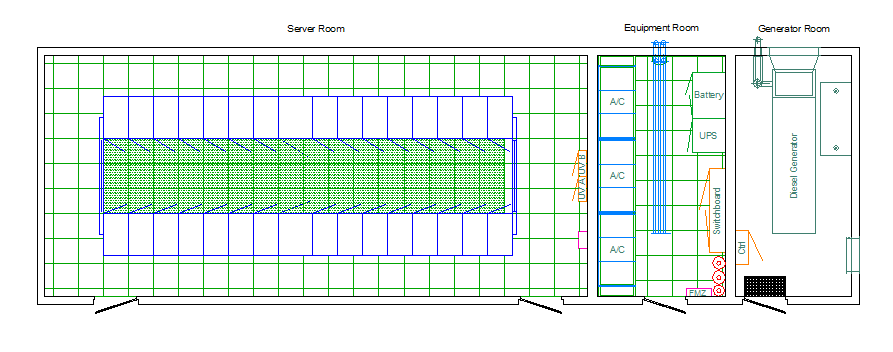 Layout Drawing TurnKey Data Centre